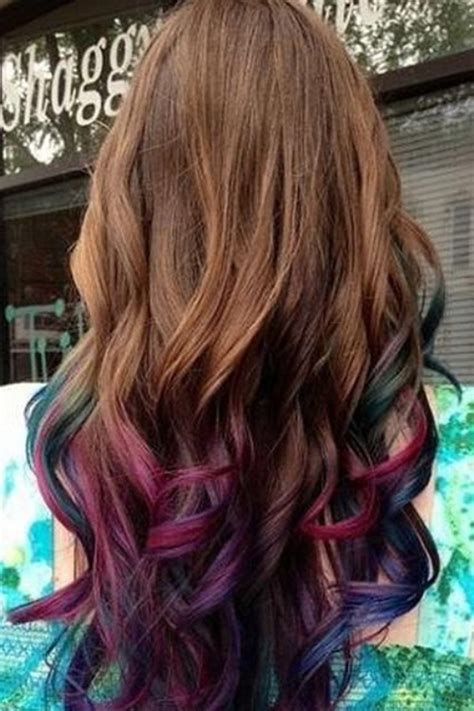 ombre hair color ideas   styles weekly