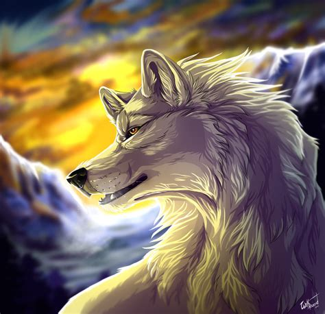 white wolf by wolfroad on deviantart