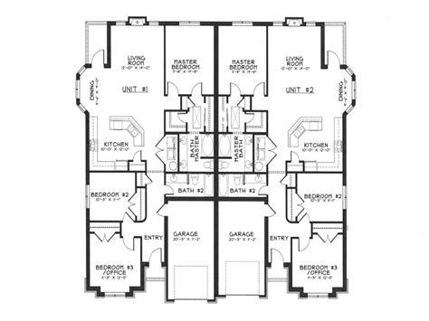 modern duplex house plans duplex house designs floor plans architecture floor plans