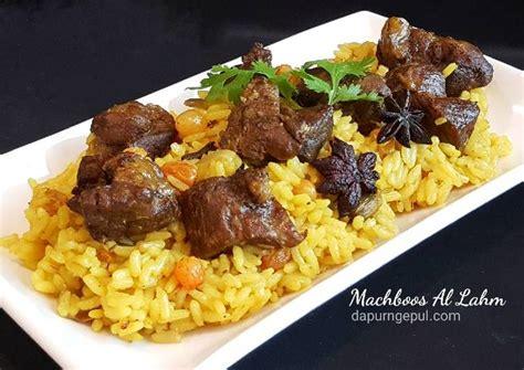 resep nasi kebuli kambing khas kuwait machboos al lahm