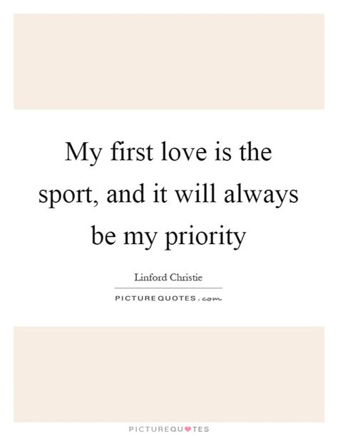 Sport Is My my is the sport and it will always be my
