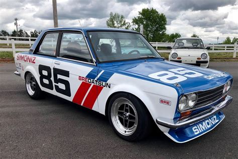 Datsun Nissan by Historic Racing Datsun Nissan At Walter Mitty Car