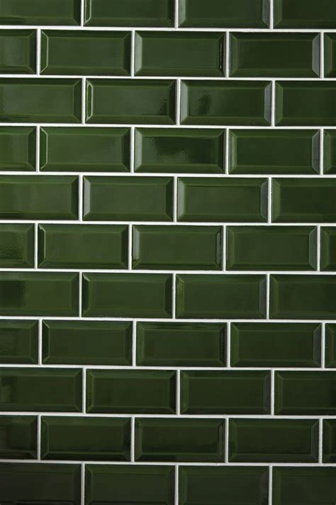 heritage bathrooms bottle green art deco metro wall tiles