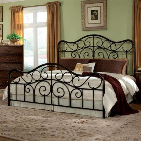 Wrought Iron King Headboard And Footboard Wrought Iron