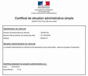 Certificat De Non Gage Gratuit à Imprimer Pdf : obtenir un certificat de non gage sur internet ~ Gottalentnigeria.com Avis de Voitures