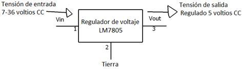 191 qu 233 es un regulador de voltaje lm7805