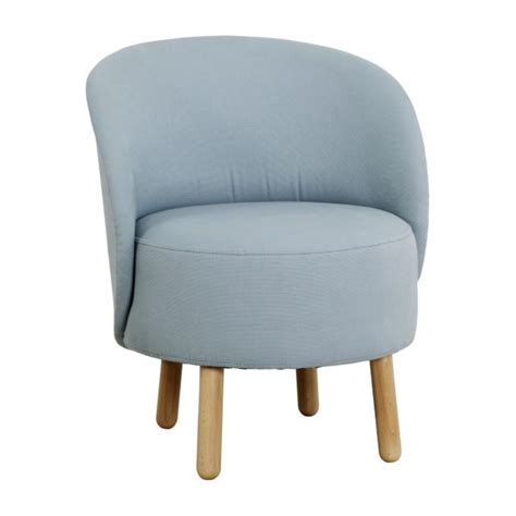 bold fauteuils fauteuil bleu ciel tissu habitat