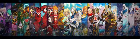 Anime Collage Wallpaper Hd - anime character print collage digital wallpaper hd