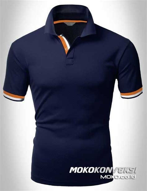 Kaos Prada polo shirt dual stripes accent n polo t shirts polo t
