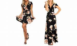 gardenia floral print dresses groupon goods With robe exotique