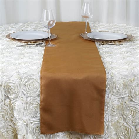 wholesale wedding table runners 20 pcs 12x108 quot polyester table top runners for weddings