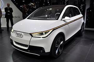 Audi A2 Concept Is An Utterly Fantastical Electric Car  With Lasers