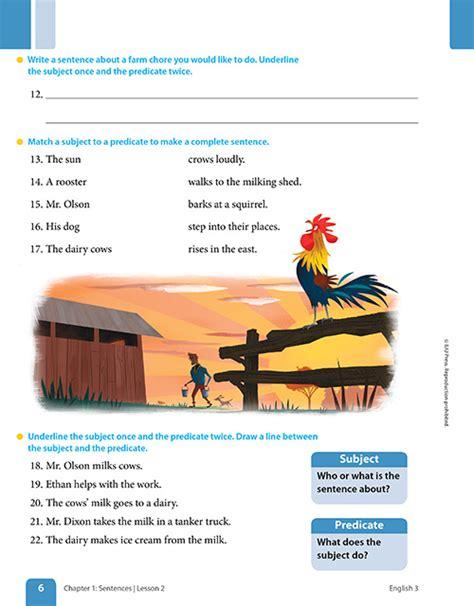 elementary english  materials  grade  bju press