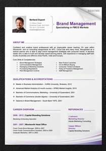 Cv Resume Template With Photo by Curriculum Vitae Cv Resume Cv Format Cv Sles