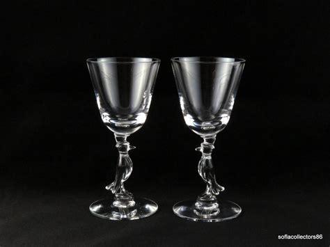 Morgantown Glass Old Crow Whiskey Commemorative Bourbon
