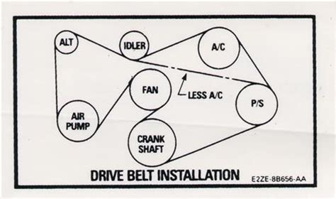 mustang 302 drive belt decal 82 84 lmr