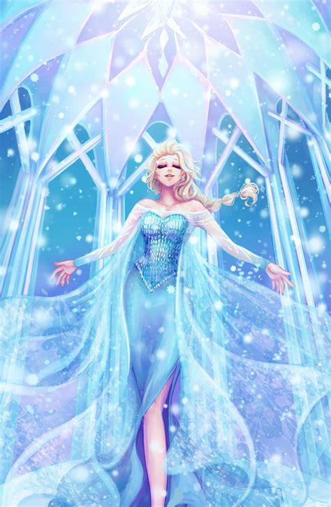 princess elsa cartoon frozen  fan art wallpapers