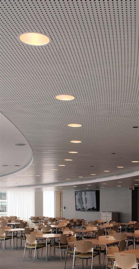 libretto gridless metal ceiling system  usg