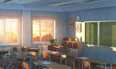 Classroom Interior on Behance