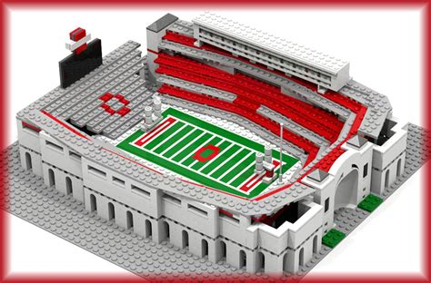 LEGO Ohio State Football Stadium