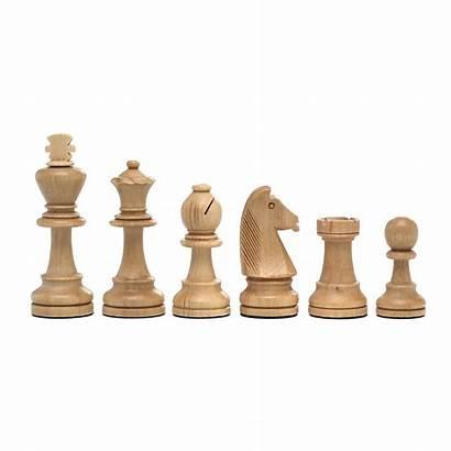 Staunton Pieces No7 Chess Wooden 100mm Lion