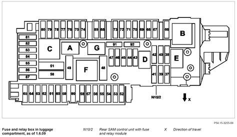 2009 C300 Fuse Diagram by C300 Trunk Fuses Wiring Diagram