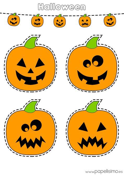 Dibujos Halloween Dibujos De Calabazas De Halloween Para Recortar Papelisimo
