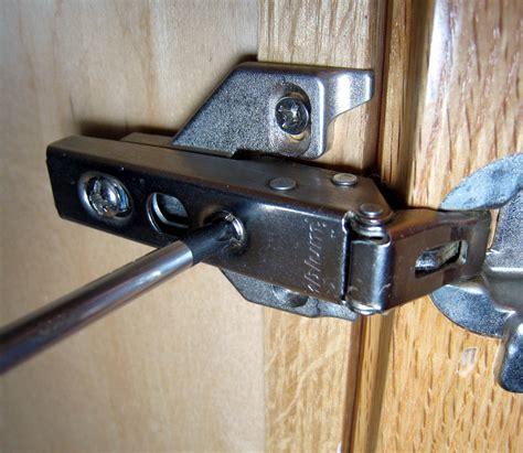 adjusting cabinet hinges how to adjust style cabinet hinges 7 steps wikihow