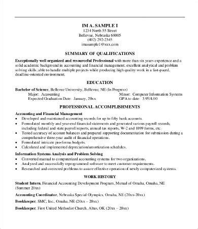 Professional Summary Resume Template by 8 Professional Resume Templates Pdf Doc Free