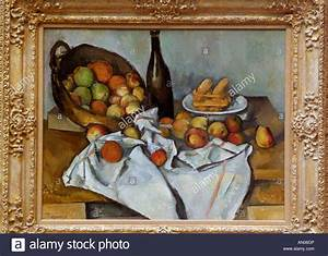 The Basket of Apples, by Paul Cezanne, 1895. The famous ...