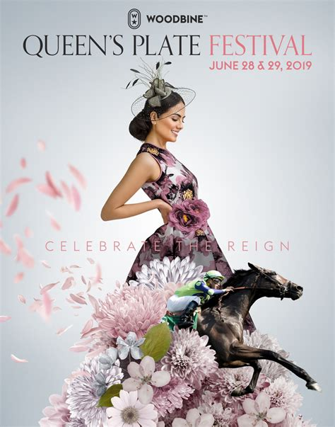 woodbine entertainment unveils official  queens plate