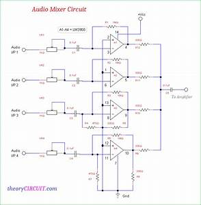 Audio Mixer Circuit