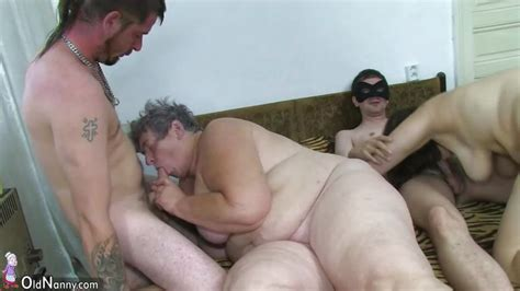 Oldnanny Group Sex Chubby Granny And Fat Mature Horny