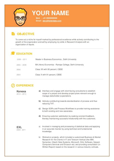 Modern Resume Components by Modern Resume 04