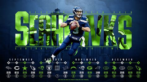 schedule wallpaper   seattle seahawks regular season