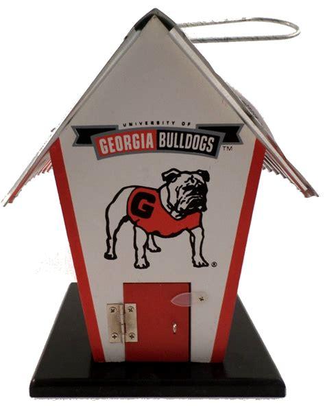 College Georgia Bulldog G Birdhouse Ncaa Licensed Home