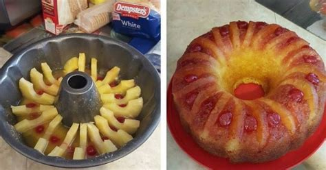 cooking recipes  pineapple upside  bundt cake