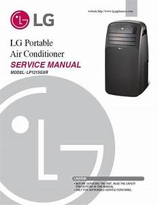 Lg Lp1215gxr Air Conditioning Service Manual And Repair