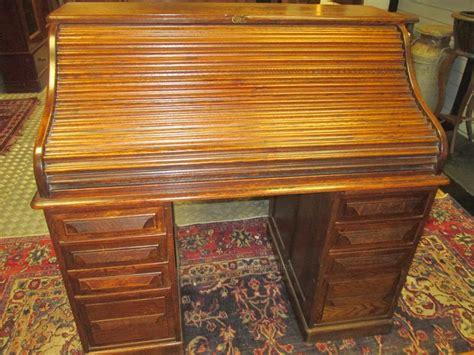 Fine 1920s Oak Roll Top Desk By Cutler Antiques Atlas