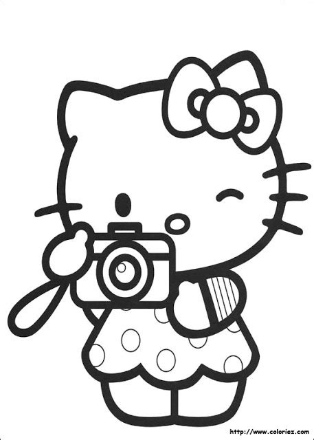 Hello Kitty #10 (Cartoons) Printable coloring pages