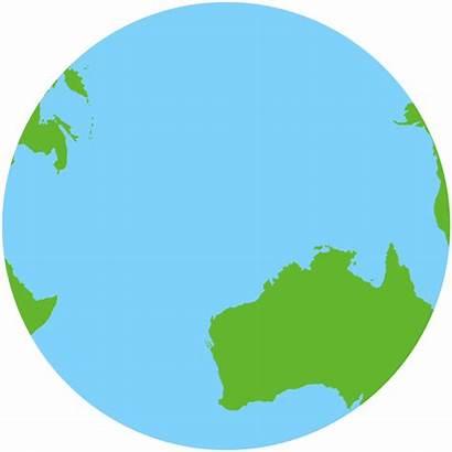 Australia Continent Move Earth Australian Down Under