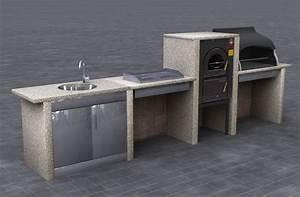 Cucine da esterno accessori da esterno costruire una for Cucina da esterno