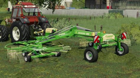 Fs19 Krone Swadro Tc930 V1 Simulator Games Mods