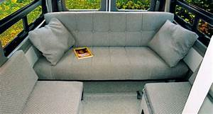 the comfortable forward facing couch seats three two lap With van sofa bed for sale