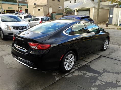 Chrysler Limited by Used 2015 Chrysler 200 Limited Sedan 10 990 00