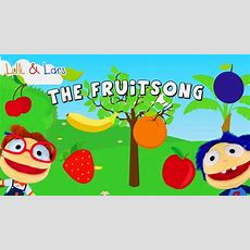 Fruit Song For Children With Lyrics  Original Nursery Rhymes Songs Youtube