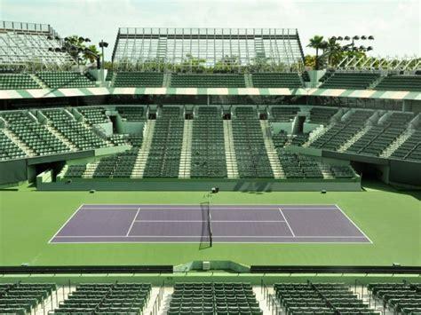 tennis courts  visit  miami