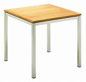 Holztisch 80 X 80 : kore vierkante tafel 80 x 80 cm ~ Bigdaddyawards.com Haus und Dekorationen