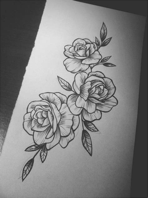70+ Simply of Beautiful Flower Tattoo Drawing Ideas for Women | Tattoos + Piercings | Tattoos