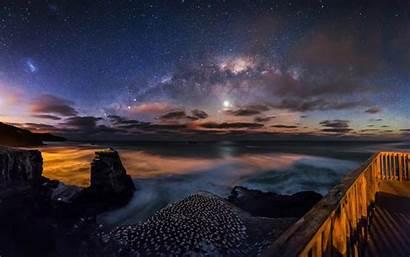 Night Scenery Galaxy Landscape Wallpapers 10wallpaper